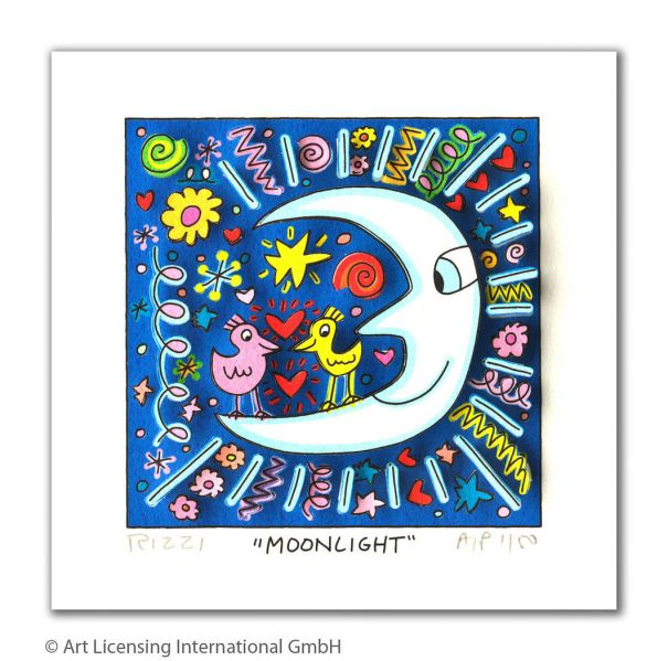 "James Rizzi ""Moonlight"""