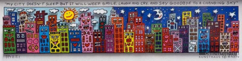 "James Rizzi ""My City Doesn't Sleep But It Will Weep, Smile ..."""