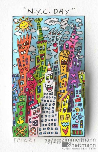 "James Rizzi ""N.Y.C. New York City Day"""