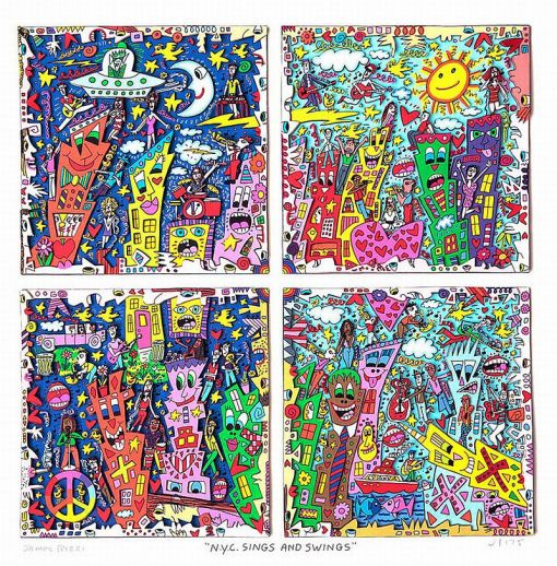 James Rizzi - N.Y.C. Sings And Swings