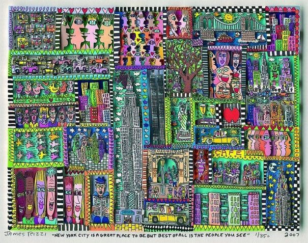 James Rizzi - New York City is a great place to be, but best of all ...