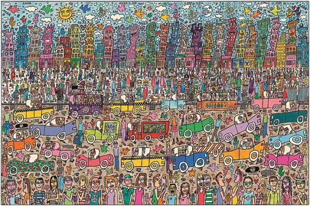 "James Rizzi ""Nothing Is As Pretty As A Rizzi City"""