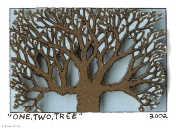 "James Rizzi ""One, Two, Tree"""