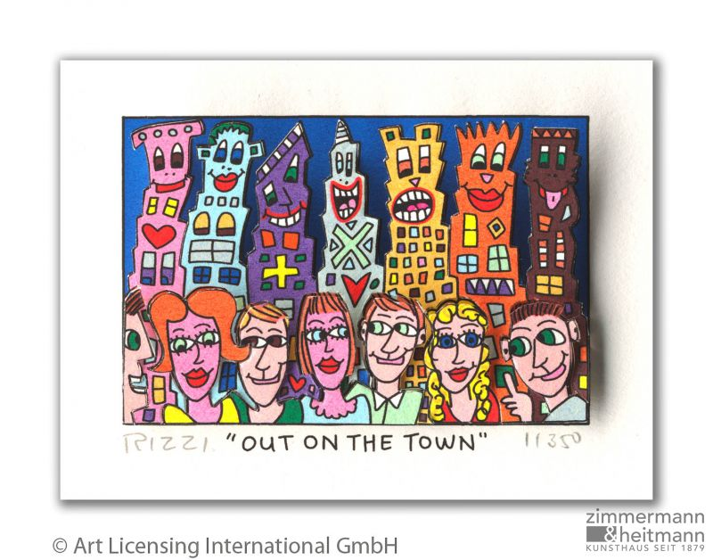 "James Rizzi ""Out of the town"""