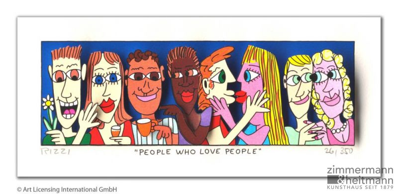 "James Rizzi ""People who love people"""