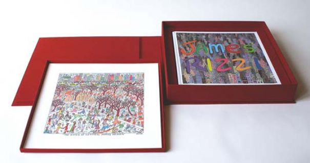 "James Rizzi ""Rizzi Deluxe Book – The Gates Of Central Park's Heaven"""