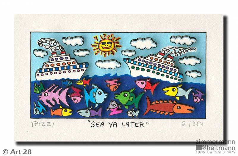 "James Rizzi ""Sea Ya Later"""