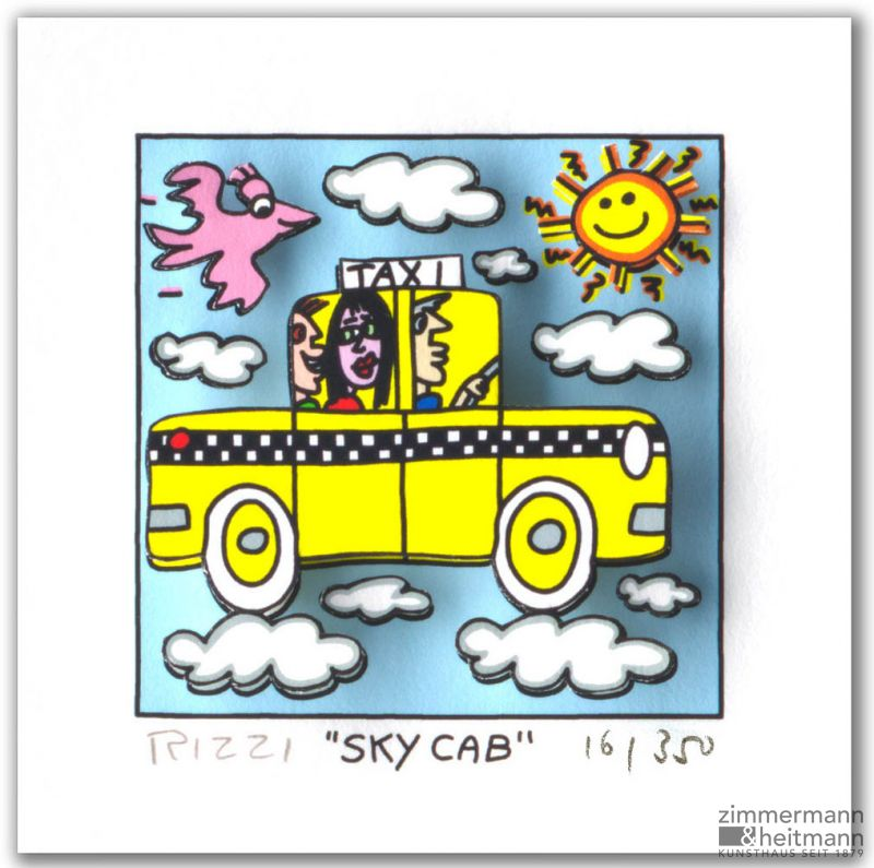 "James Rizzi ""Sky Cab"""