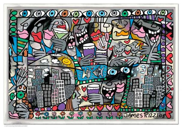 "James Rizzi ""So Happy Together"""
