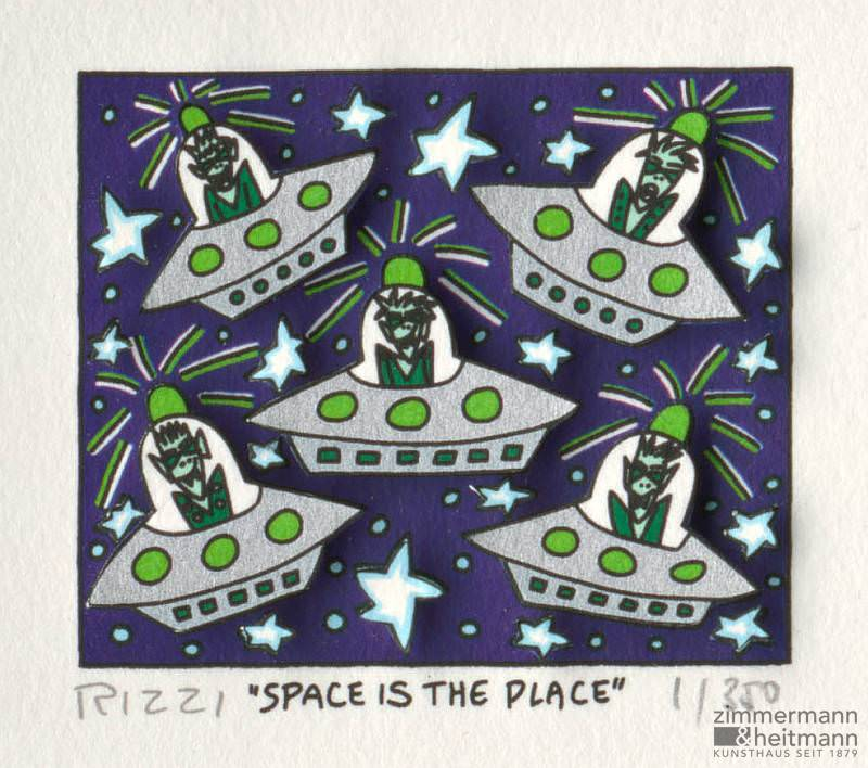 "James Rizzi ""Space Is The Place"""