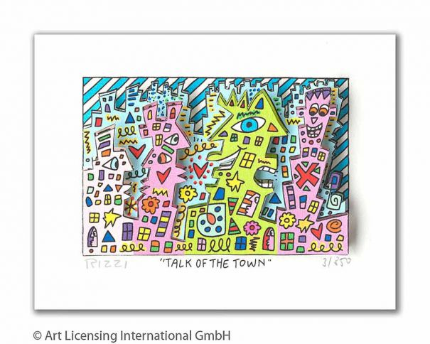 James Rizzi - Talk Of The Town