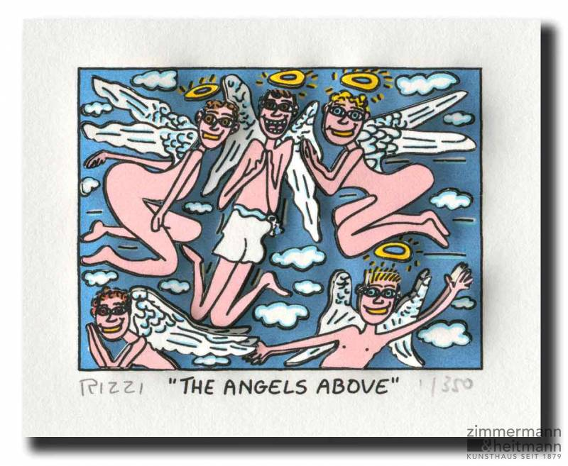 "James Rizzi ""The Angels above"""