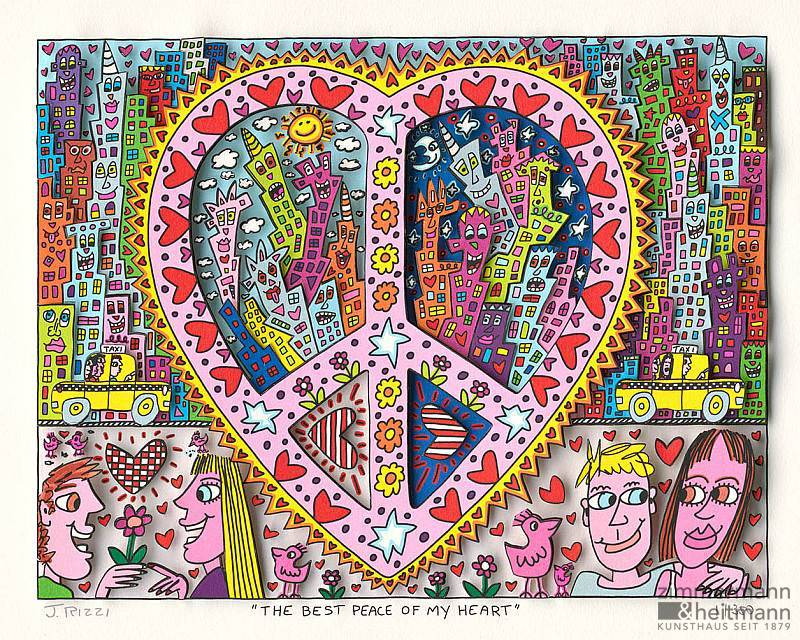 james rizzi the best peace of my heart. Black Bedroom Furniture Sets. Home Design Ideas