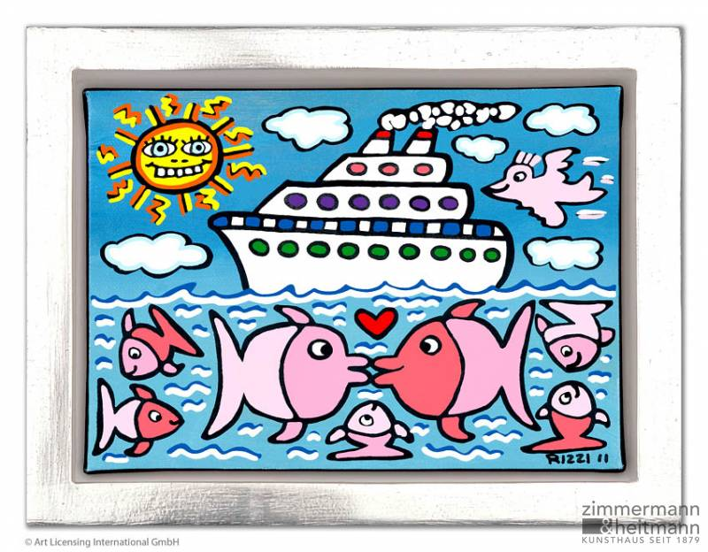 "James Rizzi ""The kissing Cruise"""