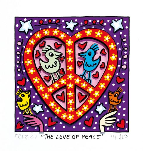 "James Rizzi ""The Love of Peace"""