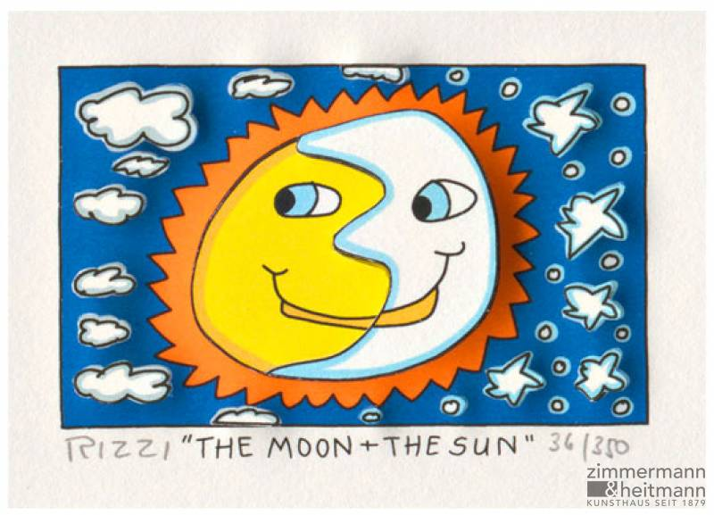 "James Rizzi ""The Moon + The Sun"""