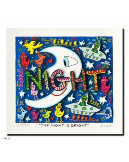 "James Rizzi ""The Night is Bright"""