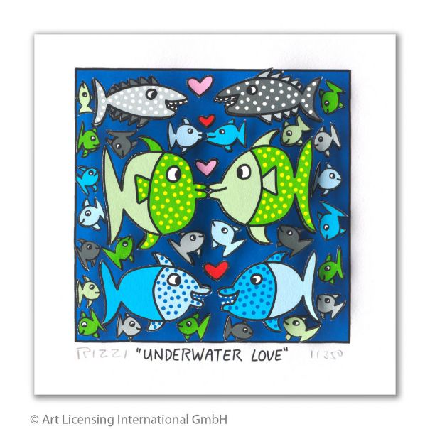 "James Rizzi ""Underwater Love"""