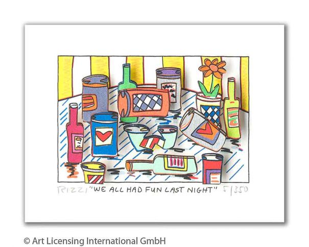 "James Rizzi ""We All Had Fun Last Night"""