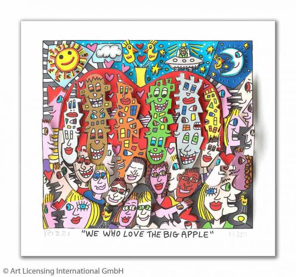 "James Rizzi ""We Who Love The Big Apple"""