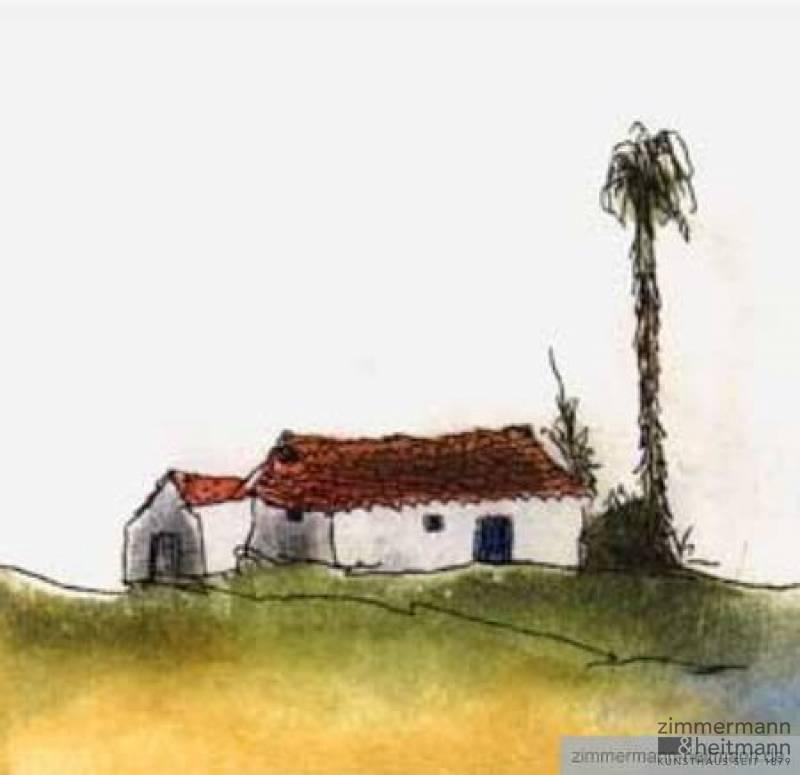 2 Häuser Und Eine Palme