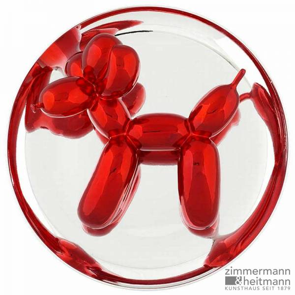 "Jeff Koons ""Red Ballon Dog"""