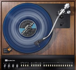 "Kai Schäfer ""Accutrac 4000 / Pink Floyd / Wish You Were Here (blue vinyl)"""