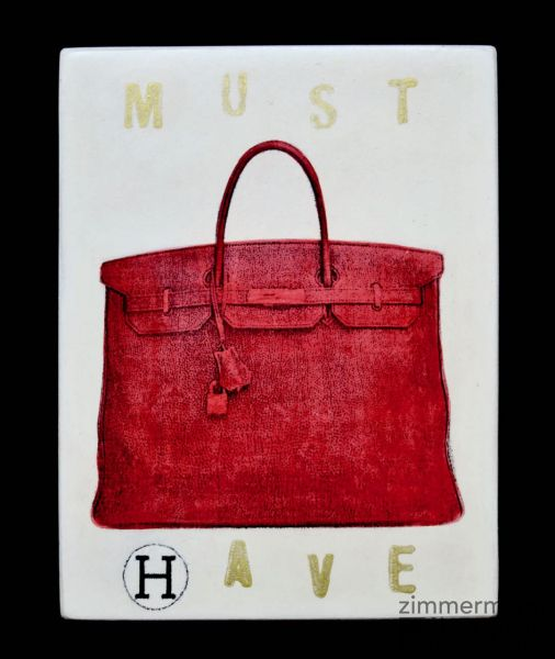 "Kati Elm ""musthave ( hermes tasche rot )"""