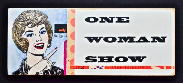 "Kati Elm ""one woman show"""