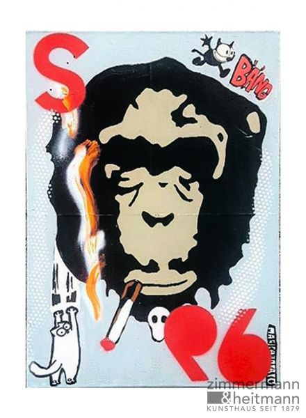 "Marisa Rosato ""Smoking Monkeys"""