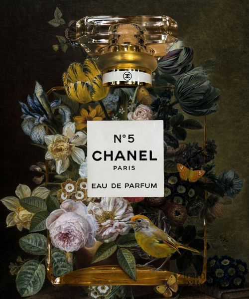"Mascha de Haas ""Chanel yellow flow bird"""