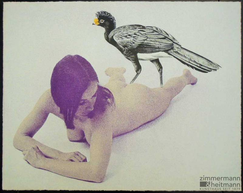 "Mel Ramos ""Leta And The Swan – Mappe mit 10 Lithografien"""