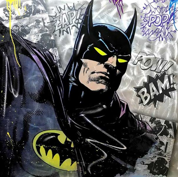 "Michel Friess ""Batman"""