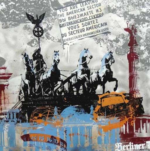"Michel Friess ""Berlin Brandenburger Tor"""
