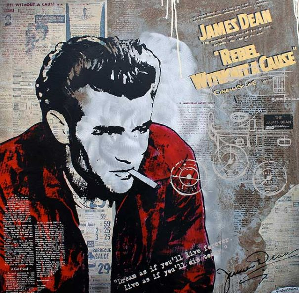 "Michel Friess ""James Dean"""