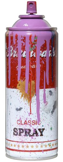 "Mr. Brainwash ""Spray Can – Purple"""