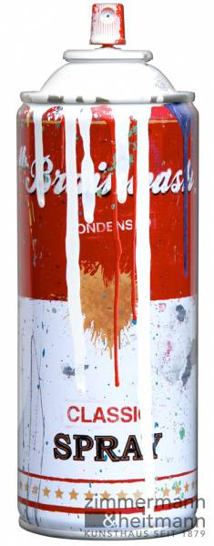 "Mr. Brainwash ""Spray Can – White"""