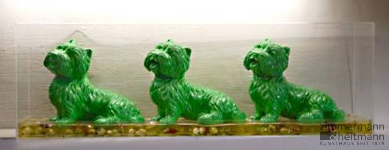 """Cloned Green Dogs"""