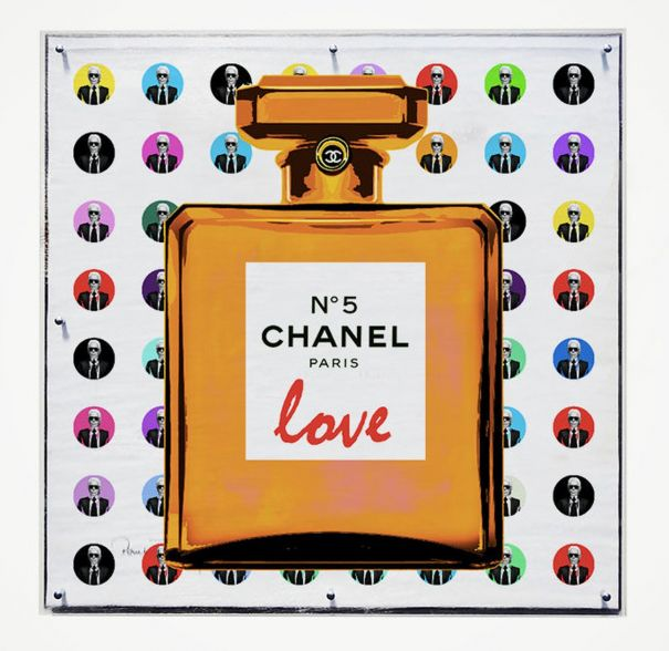 "Paul Thierry ""Chanel Love Edition orange"""