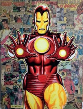 "Randy Martinez ""Legacy: Iron Man"""
