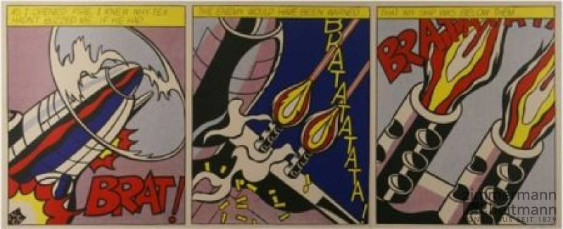"Roy Lichtenstein ""As I Opened Fire"""