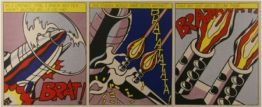 As I Opened Fire von Roy Lichtenstein