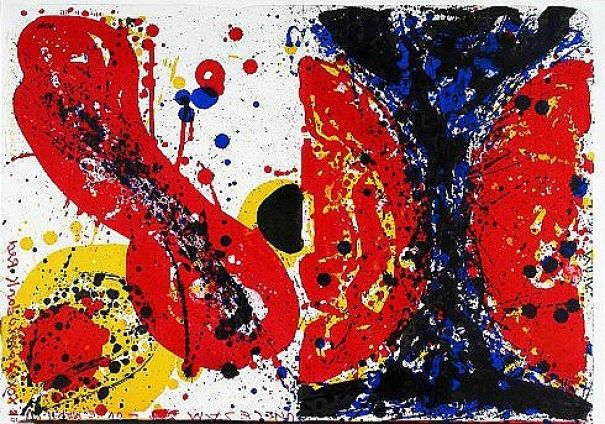 "Sam Francis ""15/26 (One Cent Life)"""