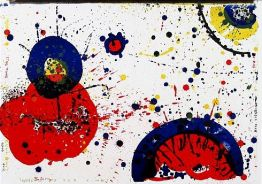 "Sam Francis ""78-83 (One Cent Life)"""