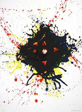 "Sam Francis ""Untitled (1)"""