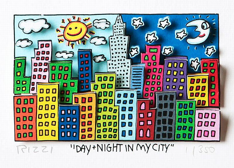 Day + Night in my City