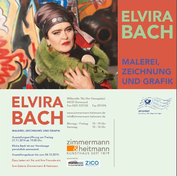 Elvira Bach in Dortmund