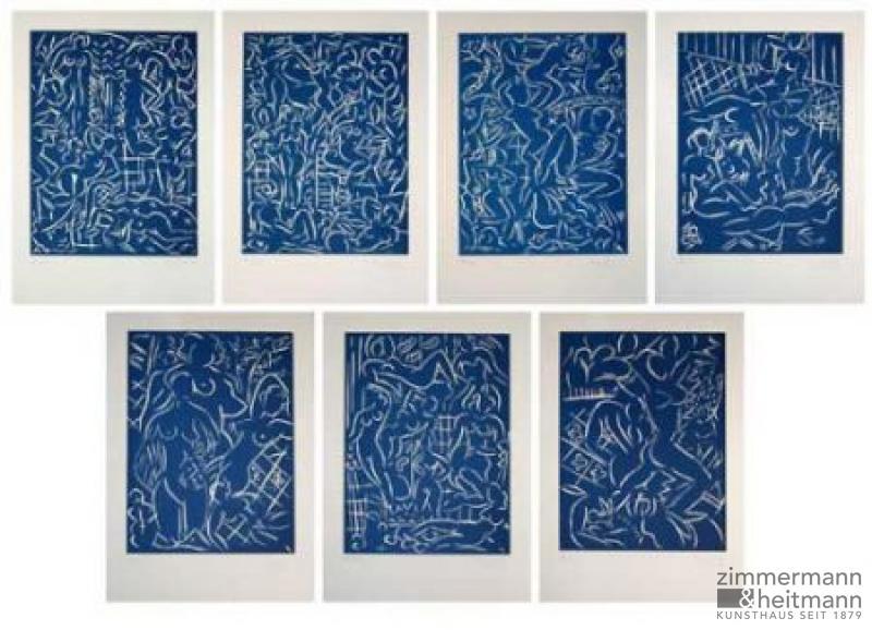 Stefan Szczesny – Bathers VII Serie blau