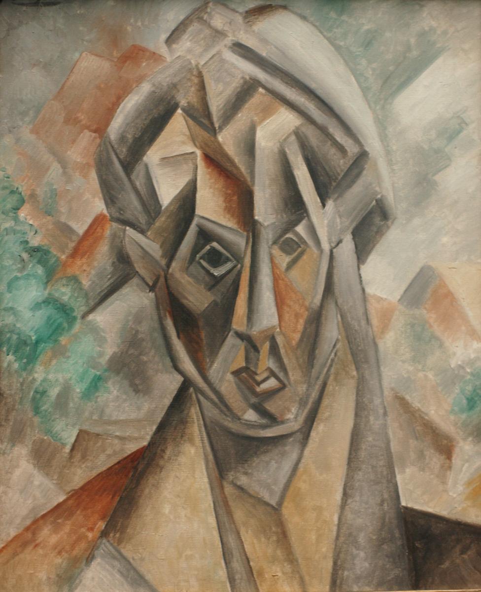 Pablo Picasso - Bildnis Fernande Olivier