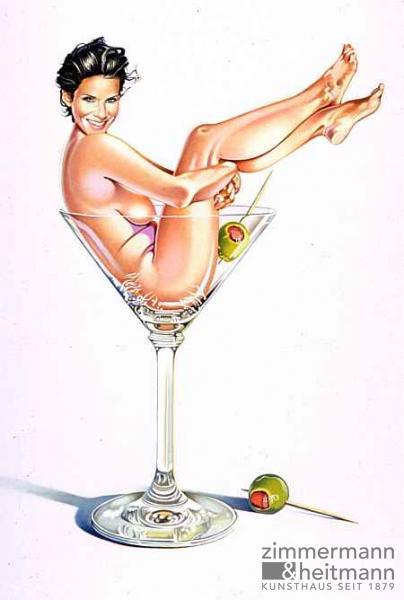 Mel Ramos – Martini Miss